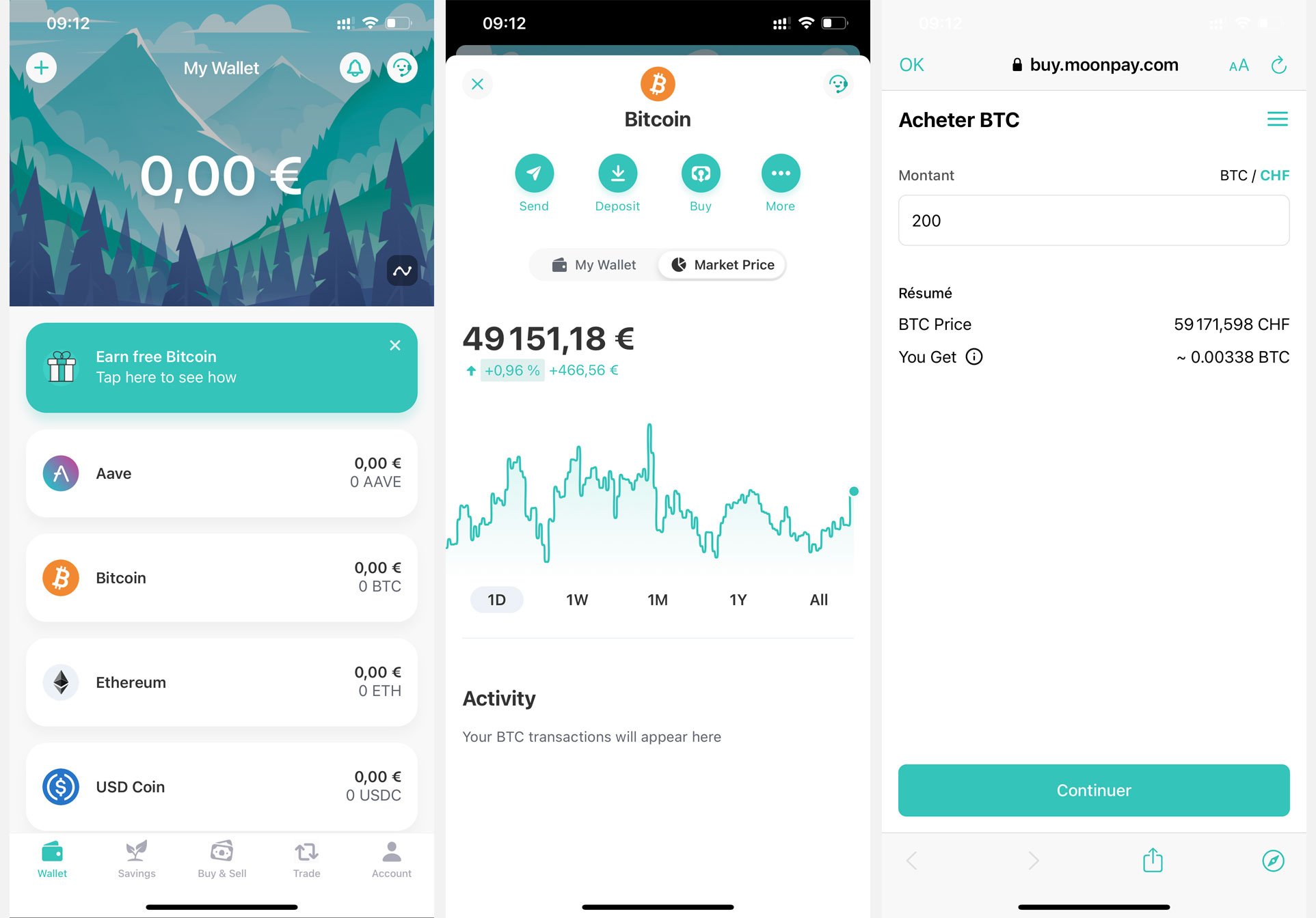 Application mobile ZenGo