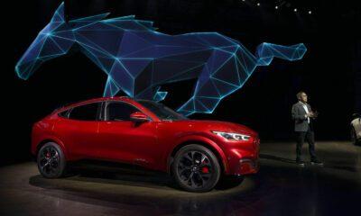 Ford Mach E electrique