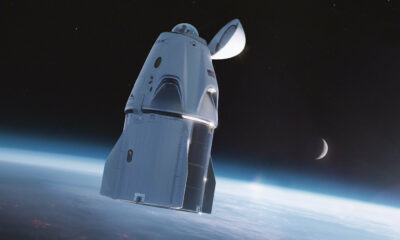 SpaceX Crew Dragon coupole