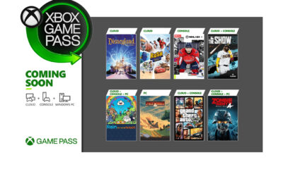 Xbox Game Pass Avril 2021