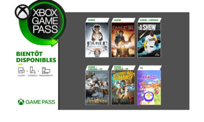 Jeux Xbox Game Pass Avril 2021