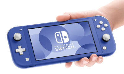 Nouvelle Nintendo Switch Bleue