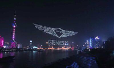 Record drones ciel Genesis
