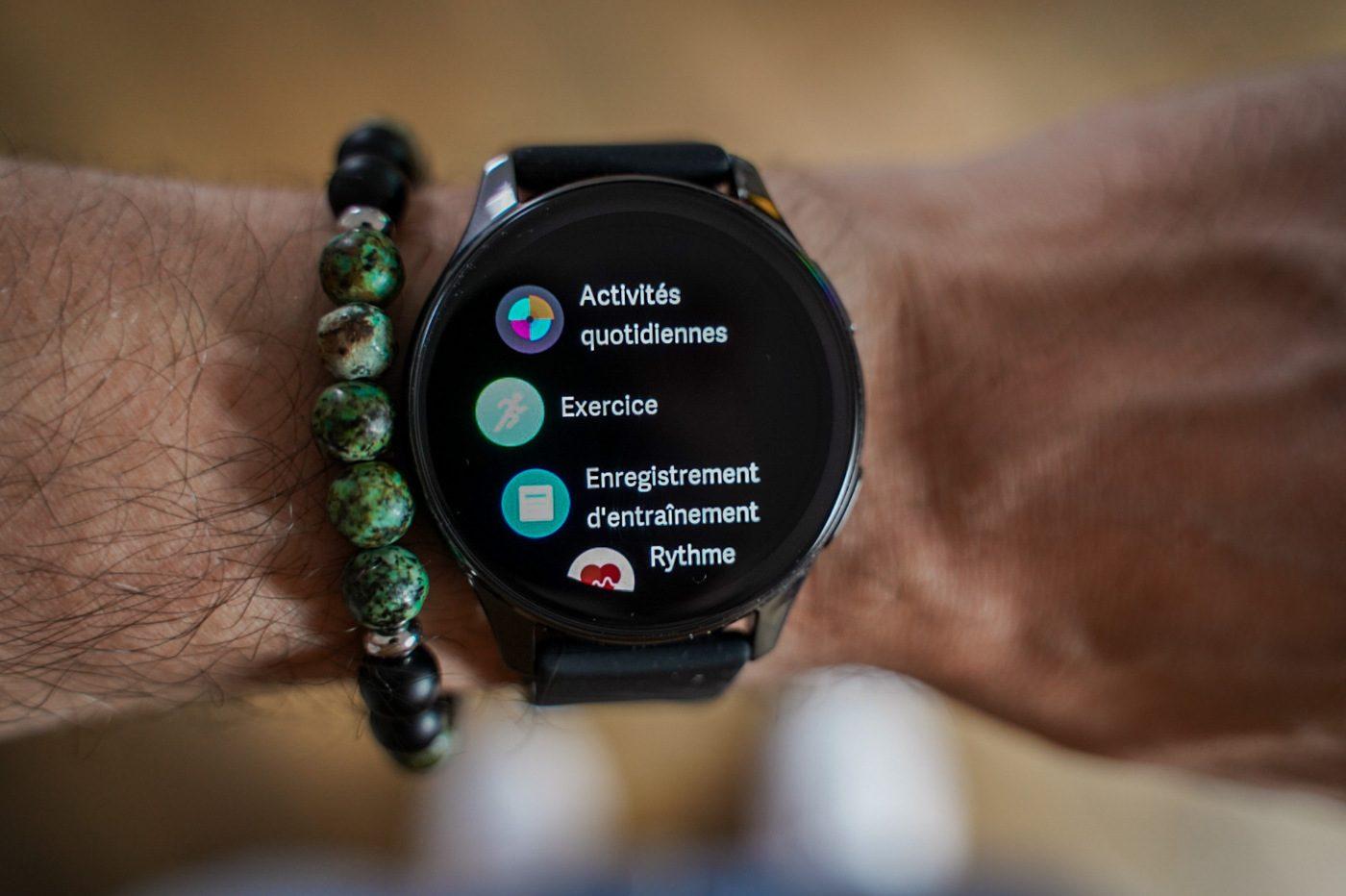 test oneplus watch fonctionnalites