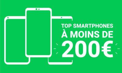 Top smartphones 200 euros