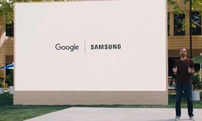 Annonce du partenariat entre Google et Samsung (Wear OS et Tizen) lors de la conférence Google IO