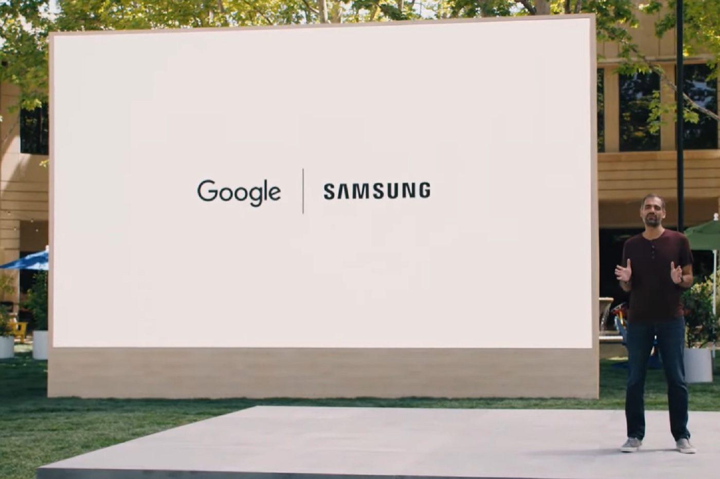 Anuncio de la asociación entre Google y Samsung (Wear OS y Tizen) en la Google IO Conference