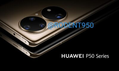 Fuite Huawei P50 série