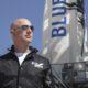 Jeff Bezos Blue Origin fusee