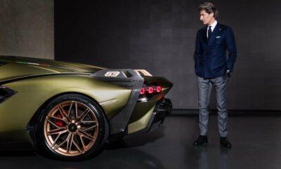 Lamborghini electrique