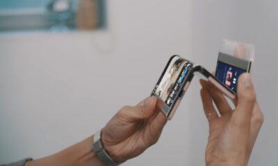 Samsung pliable en trois