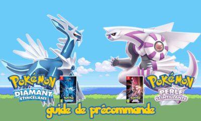 Guide Précommande Pokémon Diamant Etincelant et Pokemon Perle Scintillante