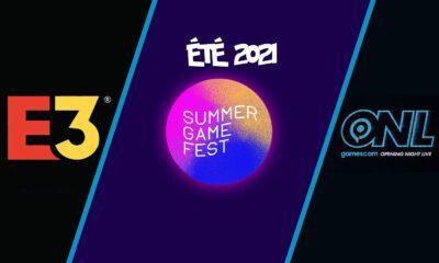 Liste événements Gaming été 2021