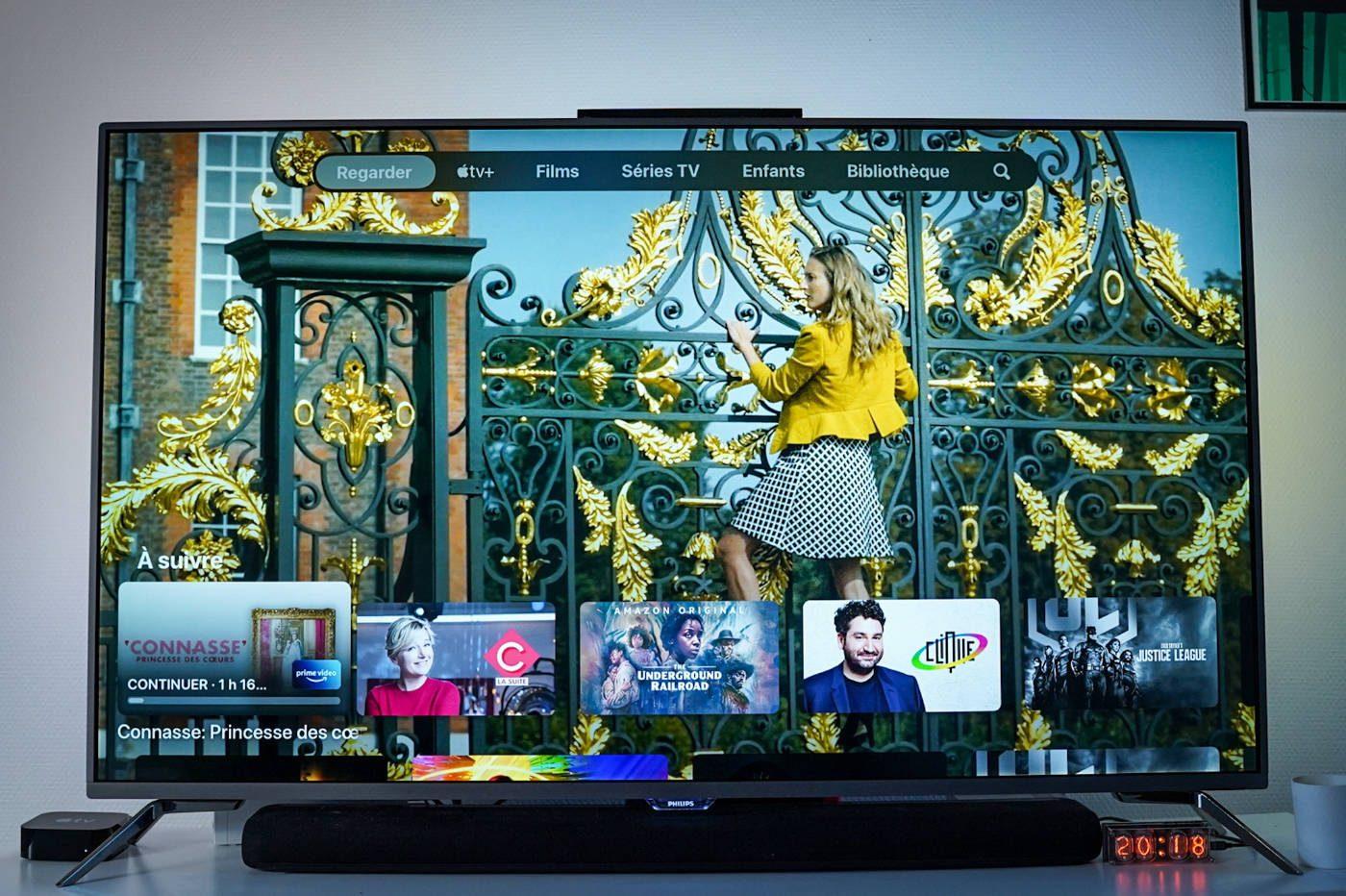 test apple tv 4K 2021 interface