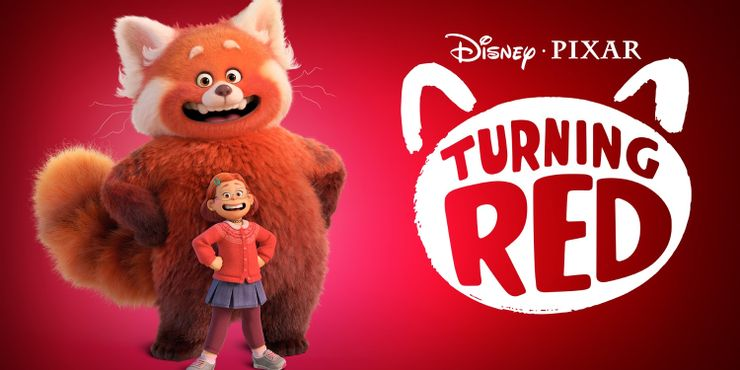 Turning red Pixar Disney