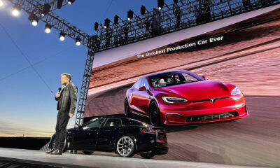 Tesla Model S Plaid Evenement