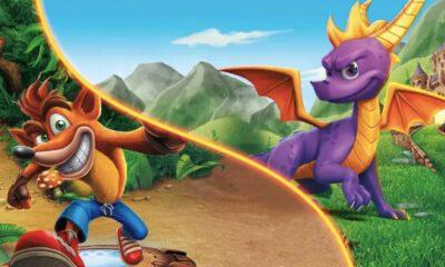 Crash Bandicoot et Spyro Série AppleTV