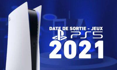 Date Sortie Jeux PS5