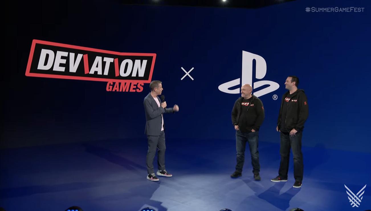 Deviation Games PlayStation