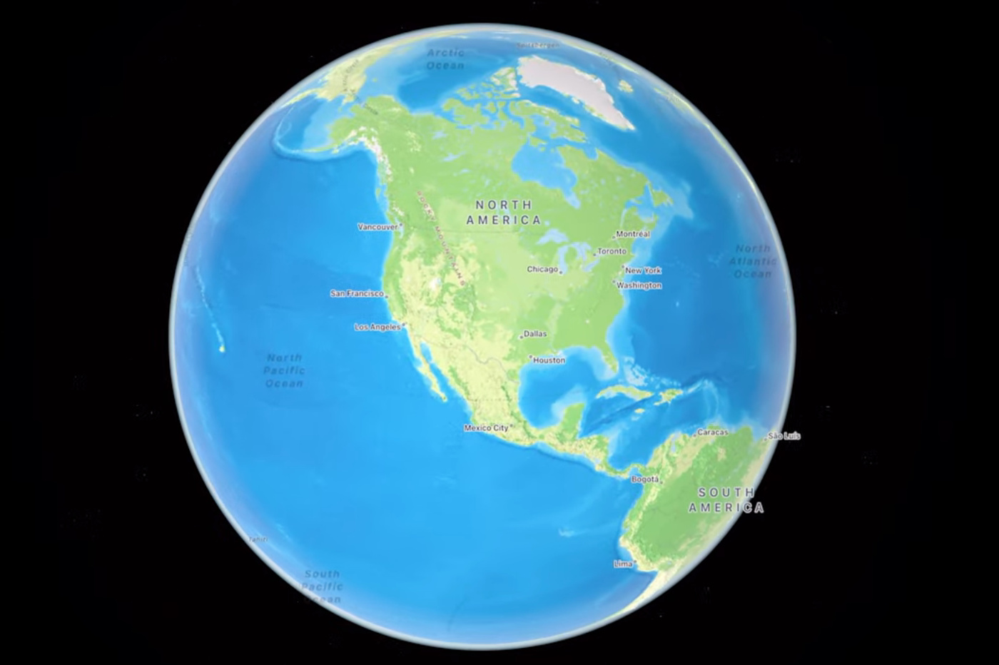 iOS 15 maps