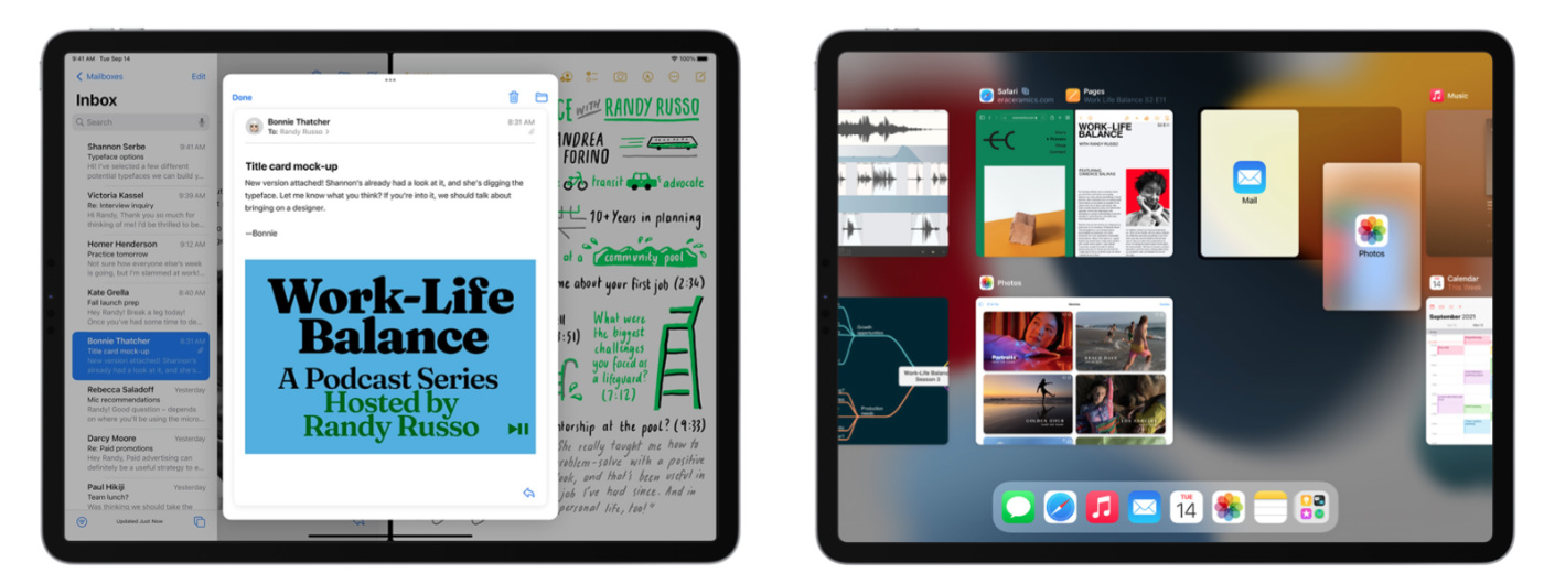 iPados 15 multitache