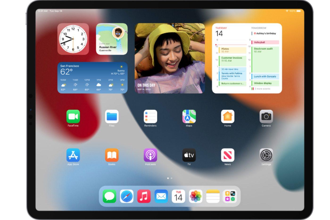 iPadOS 15 nouveautes