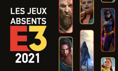 Jeux Absents E3 2021