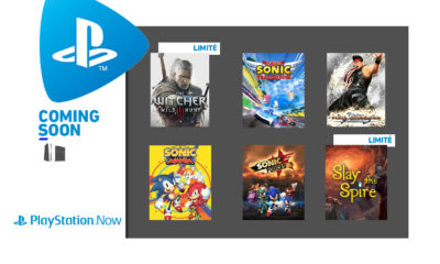 Jeux PlayStation Now Juin 2021