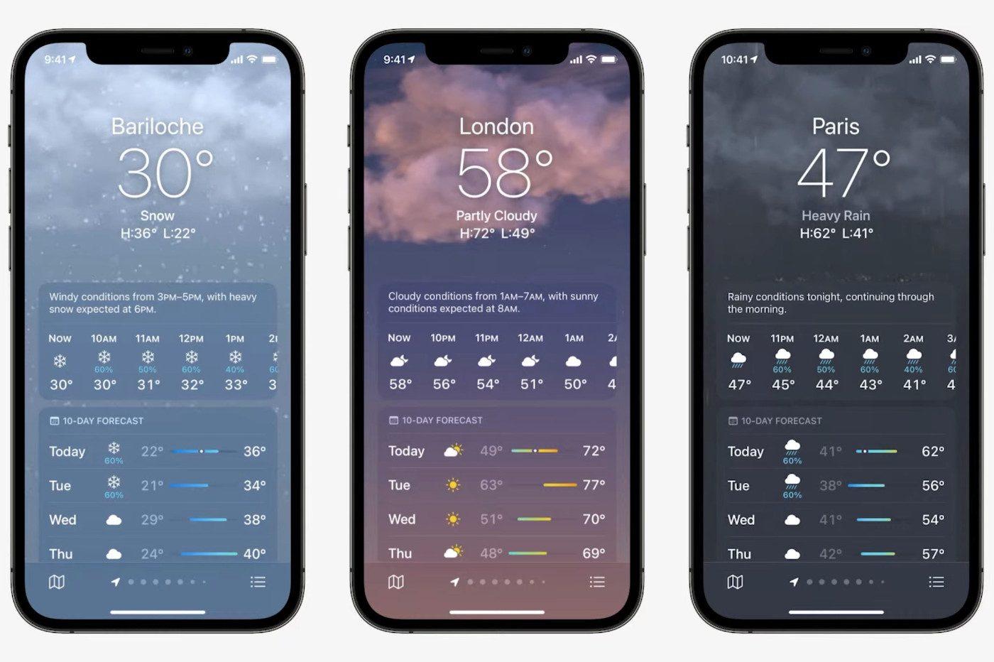 Apple Meteo 2021