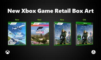 Nouvelles Jaquettes Xbox