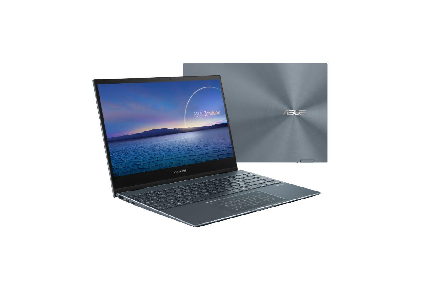 diseño flip zenbook