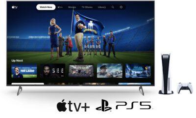 Apple TV+ Abonnement PS5