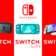Comparatif Switch Lite OLED