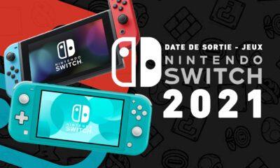 Jeux Switch 2021