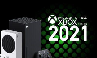 Date Sortie Jeux Xbox Series X/S 2021