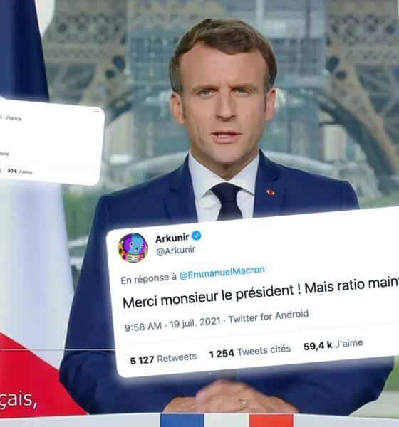 emmanuel macron twitter