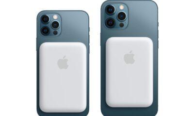 iPhone batterie externe MagSafe Apple