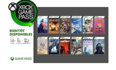 Jeux Game Pass Juillet 2021