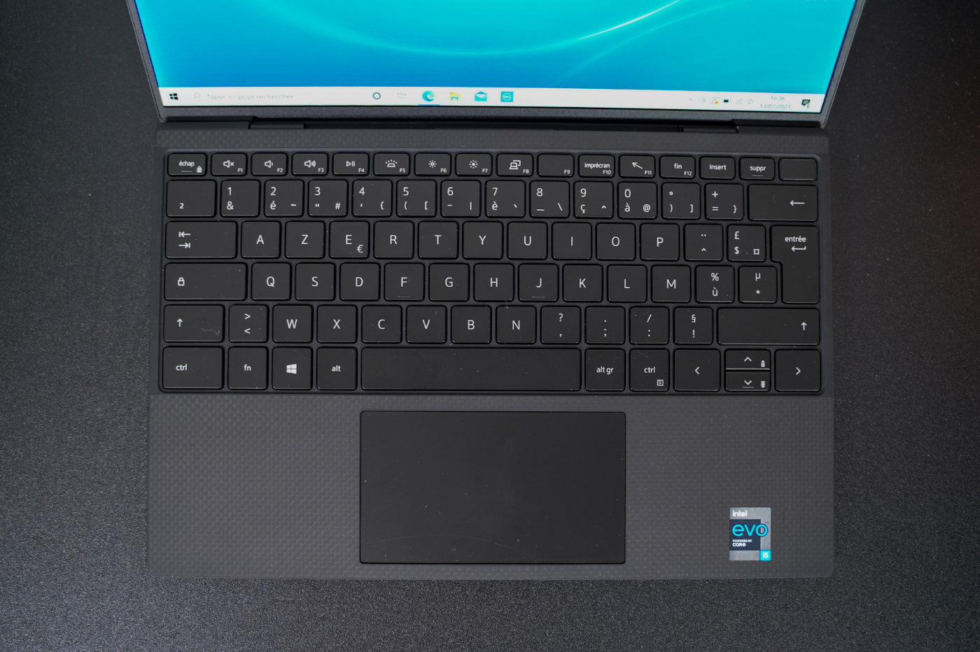 test dell ups 13 9310 clavier