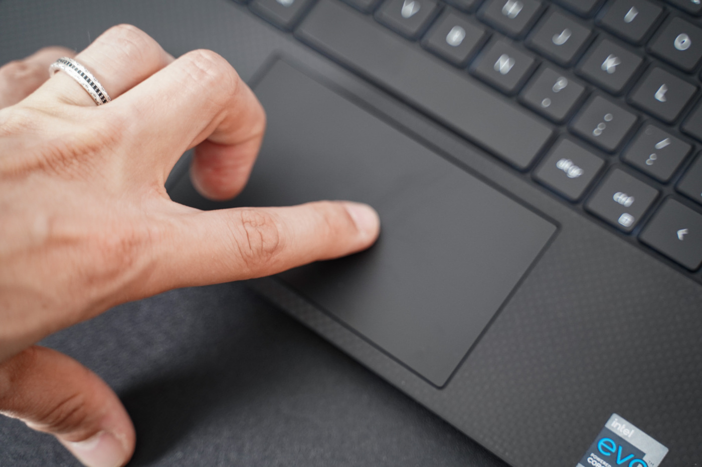 test dell ups 13 9310 trackpad