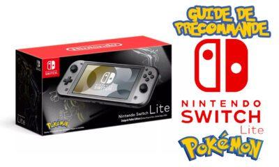 Guide Précommande Nintendo Switch Lite Pokémon