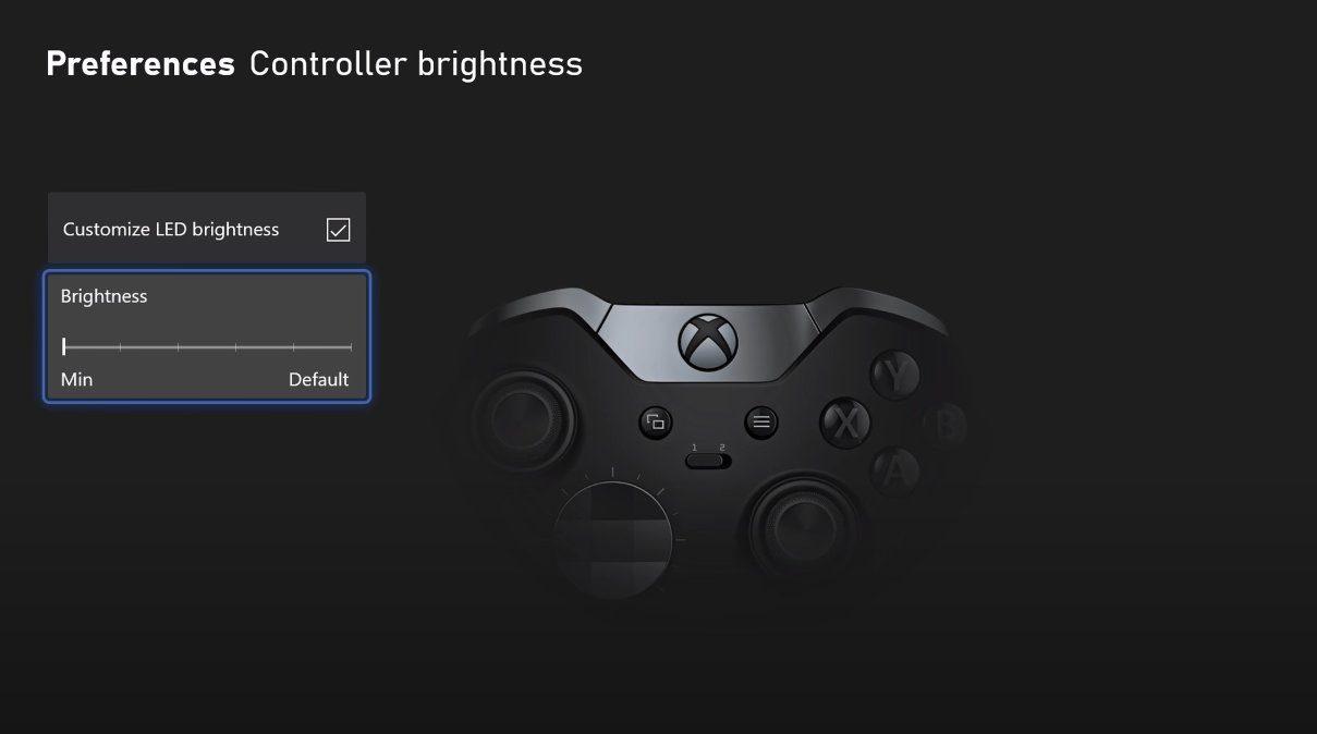 Controlador de brillo Xbox Series X / S