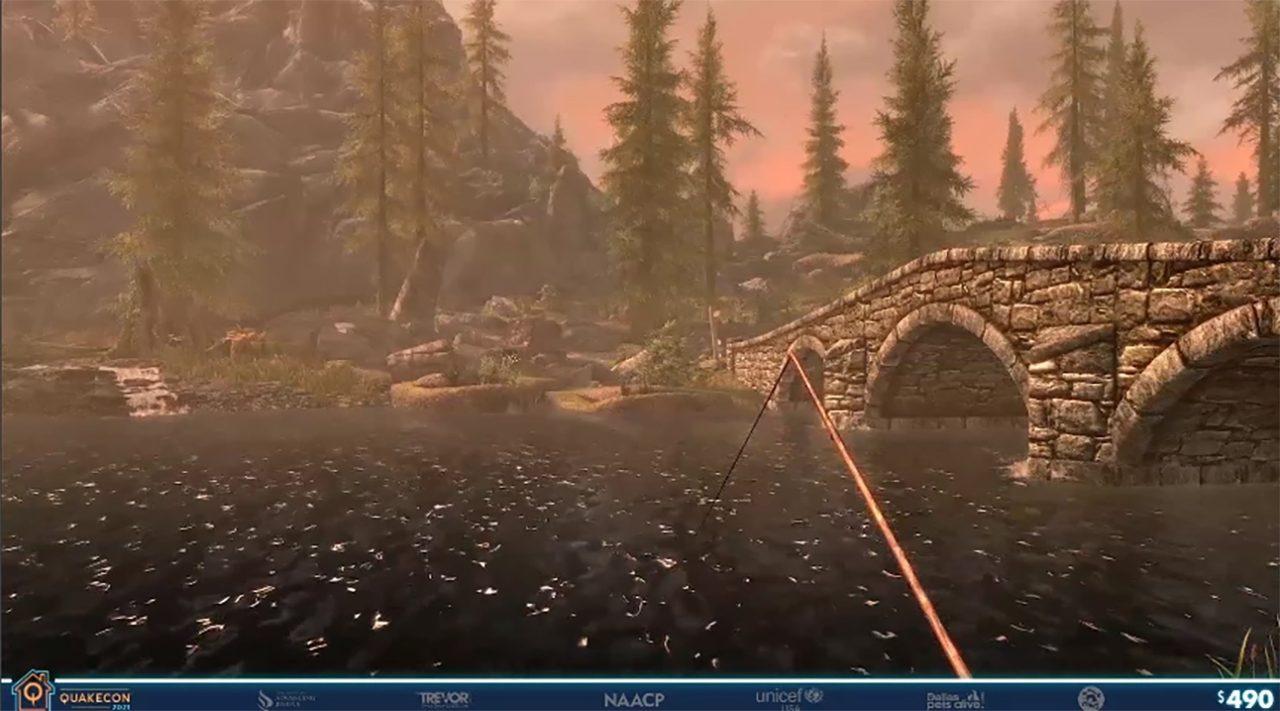 Anniversario della pesca di Skyrim