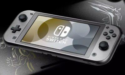 Switch Lite Pokémon Dialga et Palkia