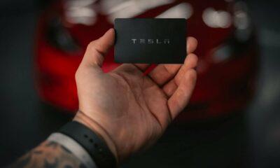 Clé Tesla key
