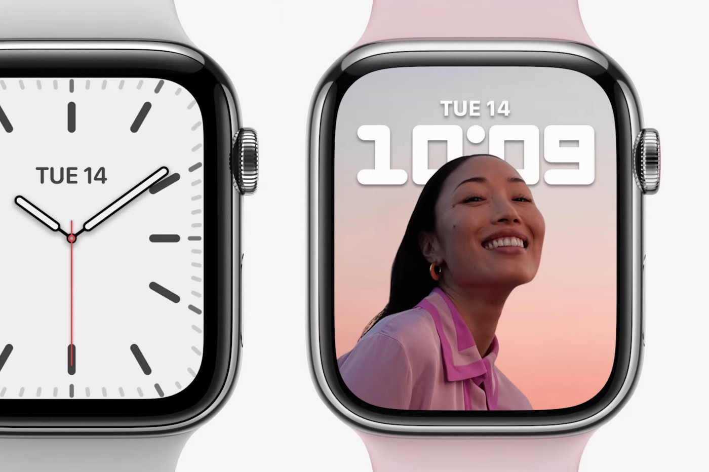Apple Watch comparaison Series 7