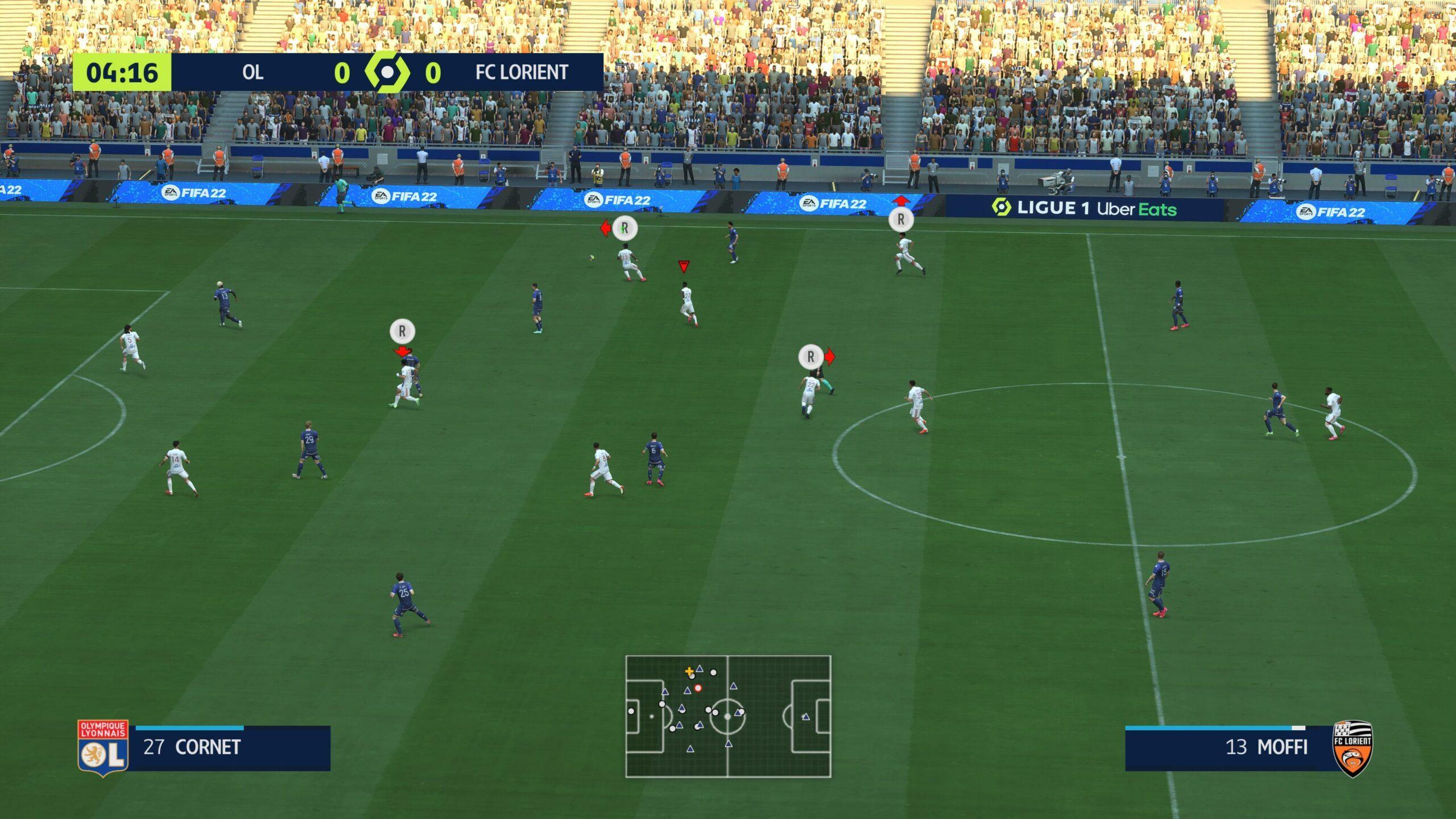 FIFA 22 Nouveau Gameplay