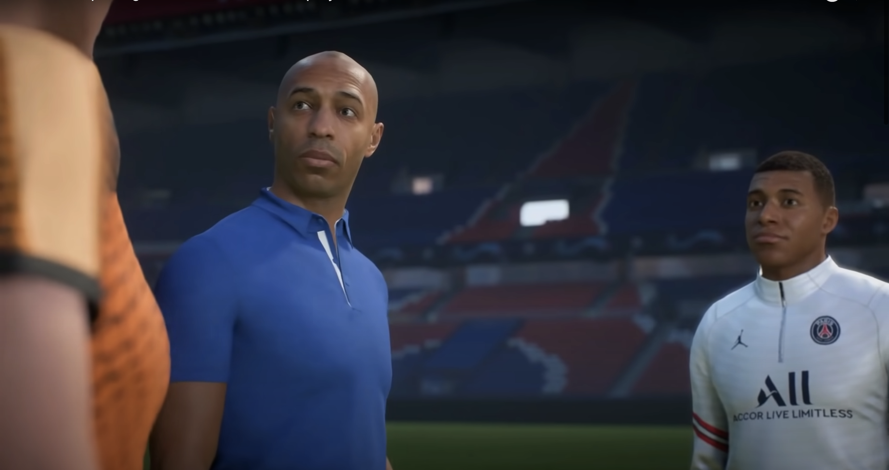 FIFA 22 Thierry Henry et MBappe
