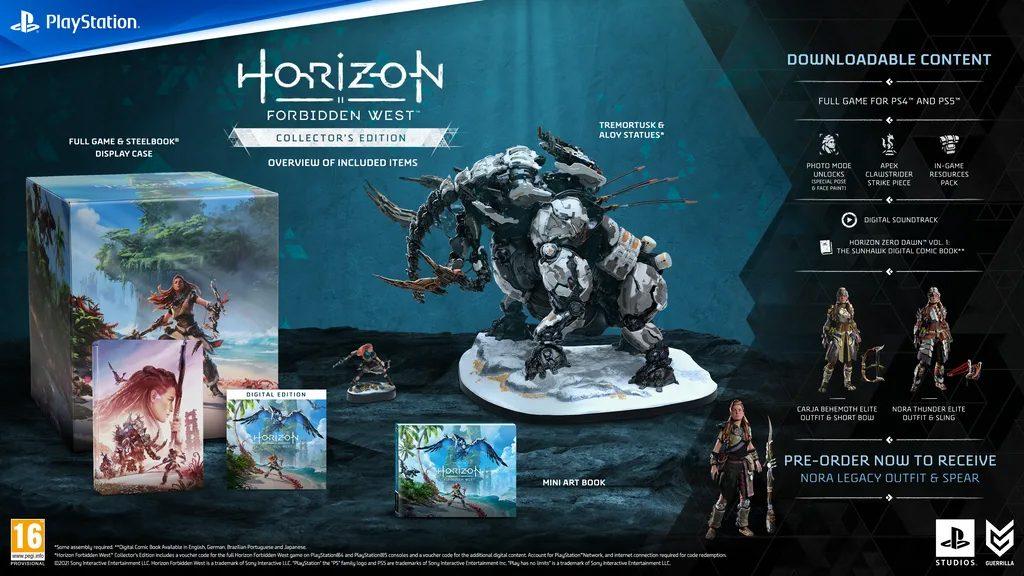 Horizon Forbidden West Digitale Edition Collector