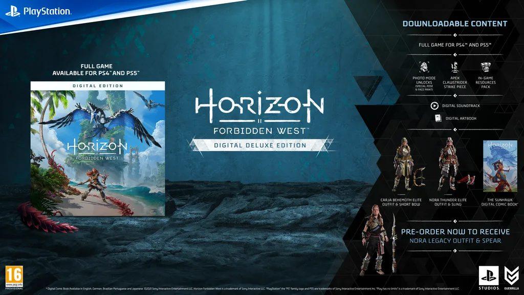 Horizon Forbidden West Digitale Deluxe Edition